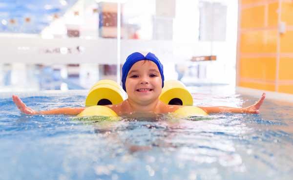 занятия в детской аквазоне