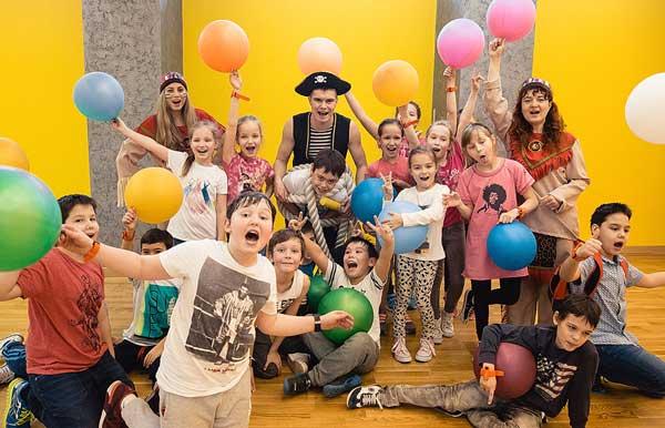 Необычный фитнес праздник в детском клубе Zorge