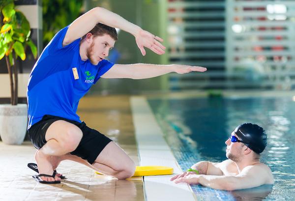 персональная тренировка по плаванию